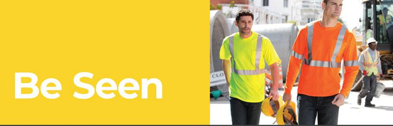 Be Seen with Hi-Vis Safety Shirts