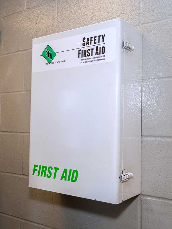 Safety First Aid Cabinet